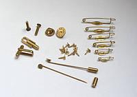 Фурнитура для изготовления значков и медалей из металла