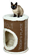 Когтеточка,дряпка Trixie TX-44700 Домик-башня для кошки Adamo 54см