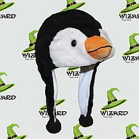 Шапка маска Пингвин