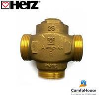 """Трехходовой клапан HERZ Teplomix (1776613) DN25 1*1/4"""" 55°C термосмесительный с отключаемым байпаса"""