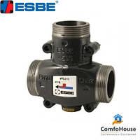 """Трехходовой термостатический клапан ESBE VTC512 (51022600) DN32 1 1/2"""" 65°C НР"""