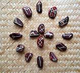 Руны из камня. Пейзажная яшма, 25 символов (XL). Premium Quality., фото 5
