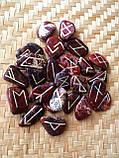 Руны из камня. Пейзажная яшма, 25 символов (XL). Premium Quality., фото 2