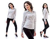 Рубашка широкая полоска