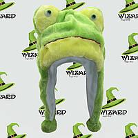 Шапка маска Лягушка