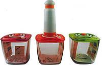 Ваккумные пищевые контейнеры с насосом и таймером, фото 1
