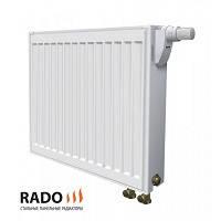 Стальные панельные радиаторы Rado тип 22 с нижним подключением