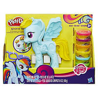 Игровой набор теста Play-Doh / Плей до My Little Pony Style Salon Playset