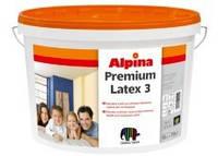 Краска ALPINA Premiumlatex 3 для внутренних работ 10 л