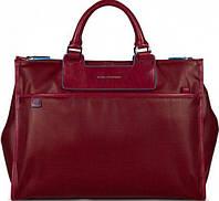 Яркая женская сумка с чехлом для ноутбука Piquadro AKI/Red, CA3171AK_R красный