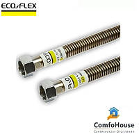"""Шланг для газа ECO-FLEX 1/2"""" ВВ 50 см, гофрированный"""