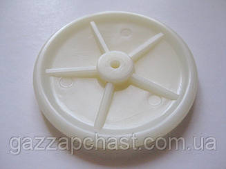Тарелка пластиковая под мембрану (53-54 мм) для китайских газовых колонок Selena, Amina, Dion и др.