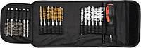Набір щіток 150 мм до свічних гнізд (латунь, сталь, нейлон) 20 шт YATO (YT-08195)