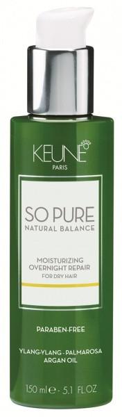 Ночная сыворотка «Увлажняющая» Keune So pure Moisturizing Overnight repair 150 мл
