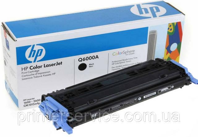 Картридж HP Q6000A (124A black) для HP C LJ 1600, C LJ 2600, C LJ 2605, CM1015mfp, CM1017mfp