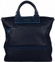Женская оригинальная сумка с чехлом для ноутбука Piquadro AKI/Bk.Blue, CA3179AK_BLU синий