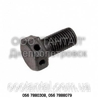 Болт контровочный с отверстиями в головке DIN 962 форма SK, ISO 7378