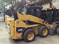 Міні навантажувач Caterpillar 242B3 High flow (типу бобкет, Bobcat), фото 1