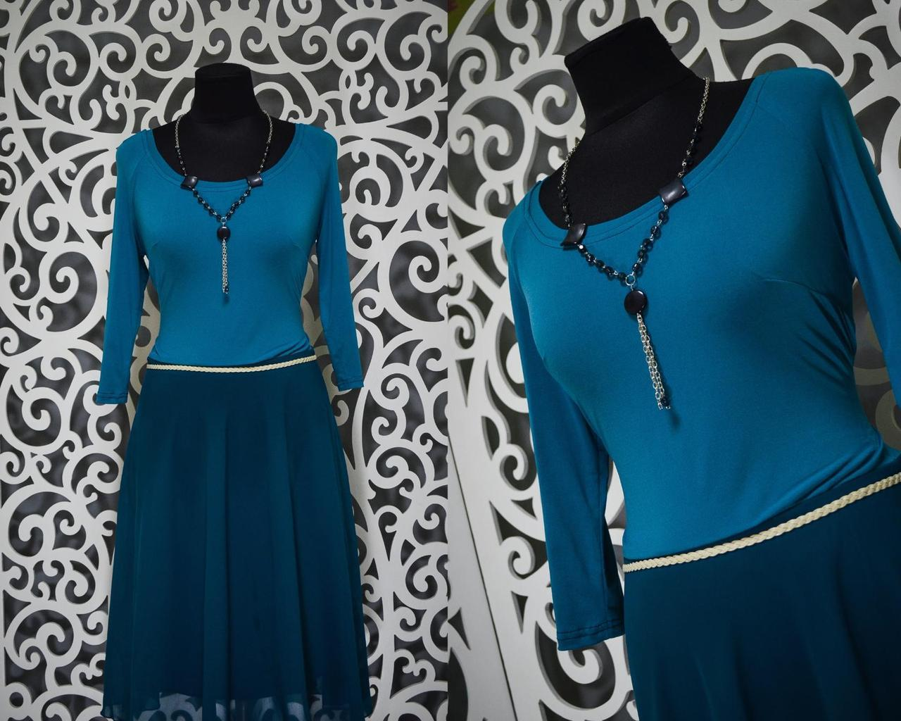 Изысканное женское платье 48, 50, 52, 54 размер баталы