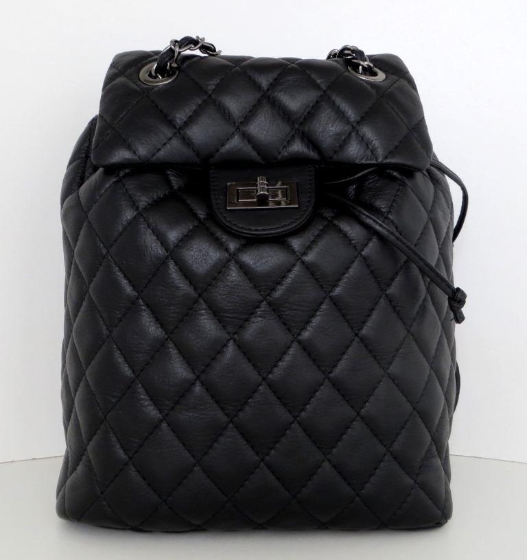 Рюкзак молодіжний, жіночий. 100% натуральна шкіра! Чорний