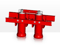 Гидроцилиндр Binotto A DWR 4-1780-130 (подкузовной)