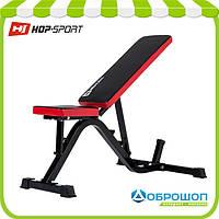 Скамья для пресса и жима тренировочная Hop-Sport HS-1030