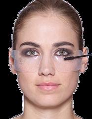 Наклейки для макияжа глаз силиконовые (патчи)