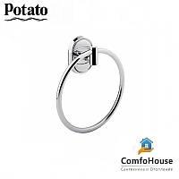 Полотенцедержатель кольцо POTATO P2904