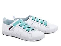Женская спортивная модная обувь. Кеды женские оптом от фирмы Violeta 80-1 Green (8пар, 36-40)