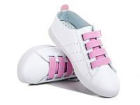 Женская спортивная модная обувь. Кеды женские оптом от фирмы Violeta 80-1 Pink (8пар, 36-40)