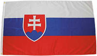 Национальный флаг Словакии 90х150см MFH 35103G