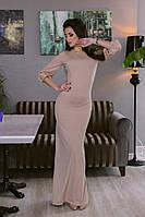 Платье Mira Sezar беж и черный, фото 1