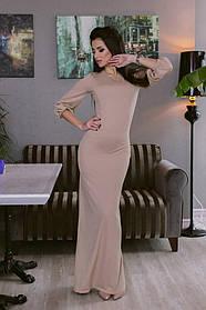 Платье Mira Sezar беж и черный
