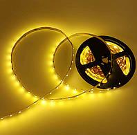 LED лента СТАНДАРТ (в силиконе) 120Led/m SMD2835 9,6W/m IP65 Желтый