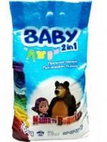Стиральный порошок Baby Маша и медведь 2 в 1 для детской одежды 6 кг