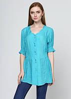 43570 Блуза летняя бирюзовая: imprezz.com.ua