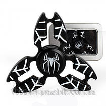 Спиннер metall Spiderman black
