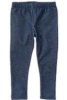 Лосины цвета джинс для девочки
