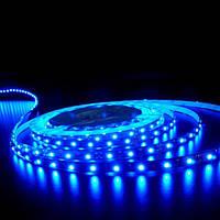 LED лента СТАНДАРТ 60Led/m SMD5050 14,4W/m 12V IP20 Синий