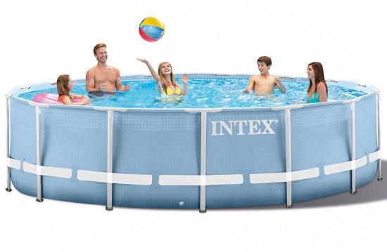 Бассейн каркасный семейный Intex 28710