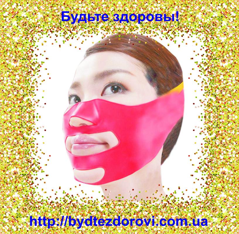 Маска-бандаж для коррекции овала лица (второй подбородок, щеки)., фото 1