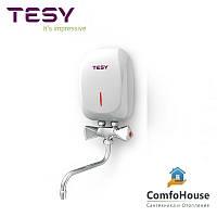Проточный водонагреватель Tesy IWH 35 X01 KI со смесителем