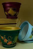 Цветочный горшок Большой колокол в ассортименте