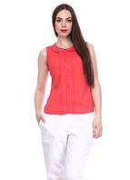 7994 Блуза летняя красная: imprezz.com.ua