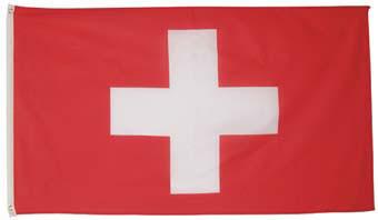 Национальный флаг Швейцарии 90х150см MFH 35103N