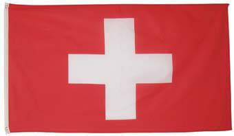 Национальный флаг Швейцарии 90х150см MFH 35103N, фото 2