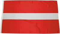 Национальный флаг Латвии 90х150см MFH 35104B