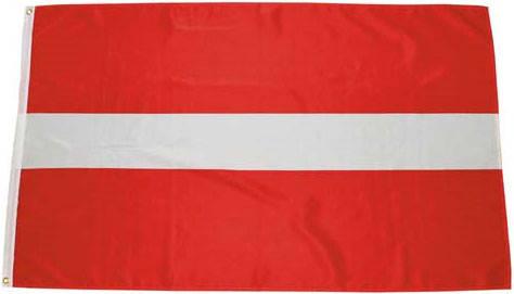 Национальный флаг Латвии 90х150см MFH 35104B, фото 2