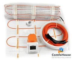 Готовый комплект электрического теплого пола  THERMOVAL MASTERBOX (ДАТЧИК TVT 04) 1,0 М.КВ