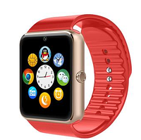 Умные наручные часы Smart Watch GT08 красные